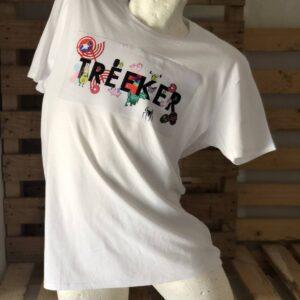 Camiseta blanca Treeker.