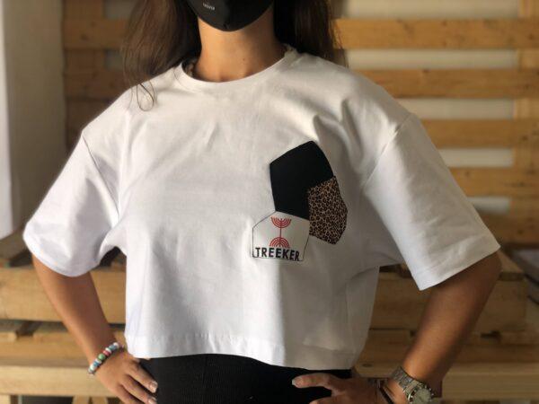 camiseta mujer leopardo